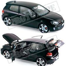 1/18 NOREV Volkswagen Golf Gti 2009 Black New Colissimo
