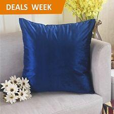 Throw Pillow Case Cover 18x18 Luxury Velvet Home Decor, Royal Blue