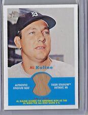 2006 Topps Heritage Baseball Al Kaline Tiger Stadium Authentic Seat Relic Card