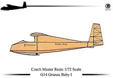 Czech Master Resin 1/72 G14 Grunau Baby I # 72G014