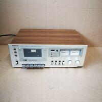 Hitachi Stereo Cassette Tape Deck D-220 Vintage Retro 1977 ( NEW BELTS )