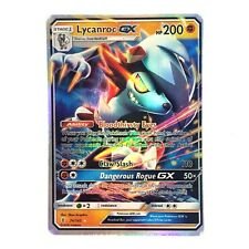 Lycanroc GX Holo Sun & Moon Guardians Rising 74/145 (Proxy | Flash Card)