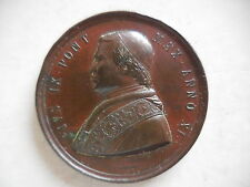 Vaticano medaglia Pio IX anno XI