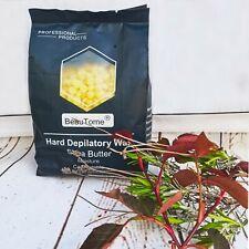 Waxing Kit Wax Pot Warmer hair removal hard wax beans pellets 400G BEANS& sticks