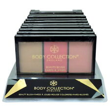 BODY COLLECTION - BEAUTY BLUSH - Trio Pressed Powder Blusher - SEALED -