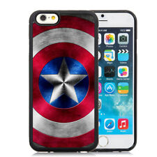 Captain America Shield Superhero Case Cover for iPhone XR XS Max 7 8 Plus 11 12