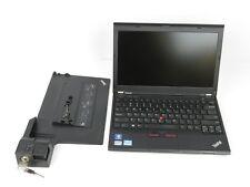 "Lenovo ThinkPad X230 12.5"" Intel i5-3230M 2.6GHz 8GB 320GB Win 10 Webcam + Dock"