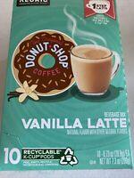 Donut Shop 1 Step Vanilla Latte Coffee Keurig 60 k-cups.Exp.01/21