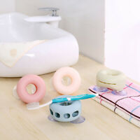 Porous Toothbrush Holder Bathroom Family Suction Cups Wall Mount Rack OrganizeSE