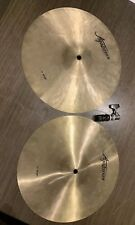 "Pair of Agazarian 13"" Hi Hat Drum Cymbals"
