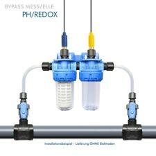 Bypass Durchfluss-Messzelle Elektrodenhalter für PH/CHLOR/REDOX Elektroden