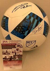 Nemanja Nikolic Chicago Fire signed MLS Soccer Ball autographed JSA