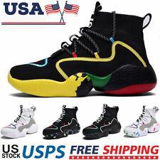 Men's Casual High Top Sneakers Outdoor Lightweight Tennis Sports Running Shoes