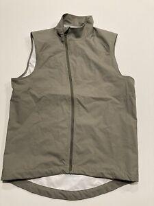 Giro Cycling Vest Men's Size Small Beige Gilet Giro Sport Design