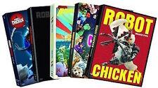 Robot Chicken Complete Season 1-5 DVD Set Cartoon Network Collection Lot Series