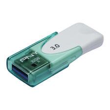 32GB PNY Attaché 4, USB 3.0 Flash Drive, Read 80MB/s White