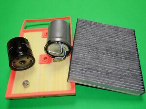 Ölfilter Dieselfilter Luftfilter Pollenfilter Audi A1 (8X) 1.4 TDI 66kW/90PS