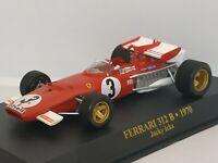 1/43 FERRARI 312 B 1970 J. ICKX F1 FORMULA 1 COCHE ESCALA SCALE CAR DIECAST