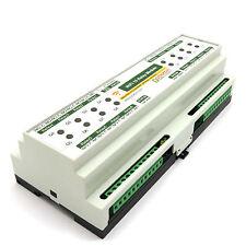 WiFi 16 Relay 10A Module Virtual COM Port TCP/IP and UDP - DIN Rail Box, 12V