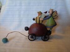 2011 Bug-gy Ride - Lady Bug Pull Toy w/ Fairy - WilliRaye Studio Ww7898