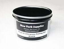 Black Offset & Letterpress Printing Ink - 2.5 lbs