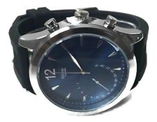 Men's Casual Watch Milano by Montres Carlo MC45823 Black Silicone Band