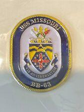 Uss Missouri Hat/Lapel Pin- Brand New
