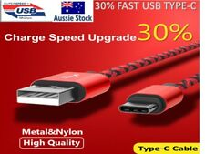 USB-C Type-C Fast Charging Data Charger Cable 4 Samsung Galaxy S8 / S9 / Note 8