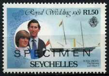 Seychelles 1981 SG#505, 1R50 Royal Wedding Optd Specimen MNH #D66983