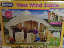 Breyer Model Horse Accesory 3 Stall Classic horse Barn
