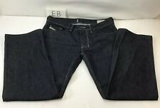 Diesel Jeans Larkee Relaxed Straight Denim Button Fly Mens Size Actual 33 x 28