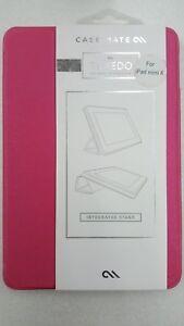 New Case-Mate Tuxedo Ultra-Slim Portfolio Case for Apple iPad Mini 4 - Pink