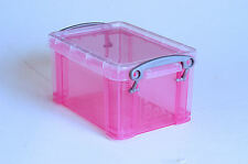 0.3 Litre Really Useful Box T.Pink