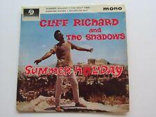 CLIFF RICHARD  ORIGINAL 1963    U.K.  E P   SUMMER HOLIDAY