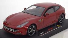 1:18 Hot Wheels Super Elite Ferrari FF 2011 redmetallic