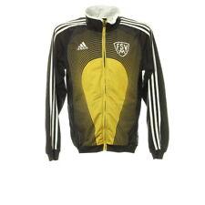 Adidas Sportjacke Gr. L Jacket Zip Stehkragen Sport Trainingsjacke