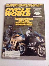 Cycle World Magazine BMW Vs Honda April 1985 032017NONRH