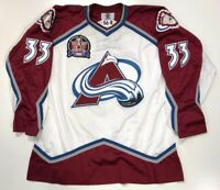 PATRICK ROY 1996 STANLEY CUP STARTER NHL AUTHENTIC COLORADO AVALANCHE JERSEY 52