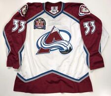 PATRICK ROY 1996 STANLEY CUP STARTER NHL AUTHENTIC COLORADO AVALANCHE JERSEY 56