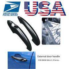 2 X Black Car Door Handle Cover For MINI Cooper S R50 R53 R56 R57 Replacement US