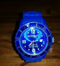 MEN'S Silvexcraft Fabulous Watch With Swarovski Elements 3ATM WATER RESISTANT