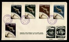 1962 PARAGUAY FDC SPACE CACHET COMBO