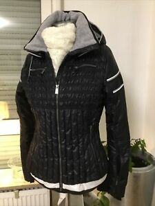 Luxus Damen Skijacke TONI SAILER Ski Jacke Tailiert Gr.40,Schwarz/Weiss, NEUW.