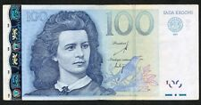 Estonia Estonian 100 Krooni 2007 Ser ZZ Replacement VF Condition !!