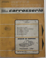 revue technique automobile carrosserie RTA PEUGEOT 504 n° 29 C