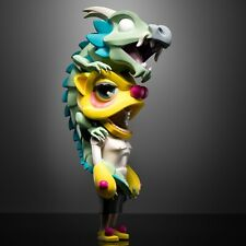"""COARSE TOYS AURA HALF MOON 14"""" VINYL FIGURE LIMITED EDITION IN HAND SOLD OUT"""