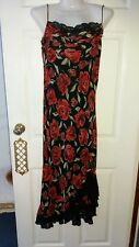 """For Women"" blk/red dress size 14"