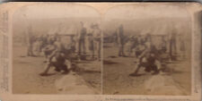 SV:Boer War,South Africa,1899-1902:The Yorkshires Breakfasting In Camp At Naauw