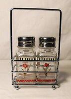 Floral Elegance Salt & Pepper Shaker Set, Flowers by Kimberly Poloson