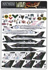 NEW 1:72 Kits World Decals 72214 Avro Vulcan B.2 Early to Late Schemes